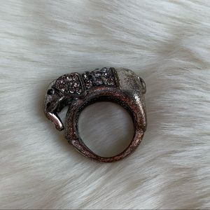 Jewelry - Silver Elephant Ring